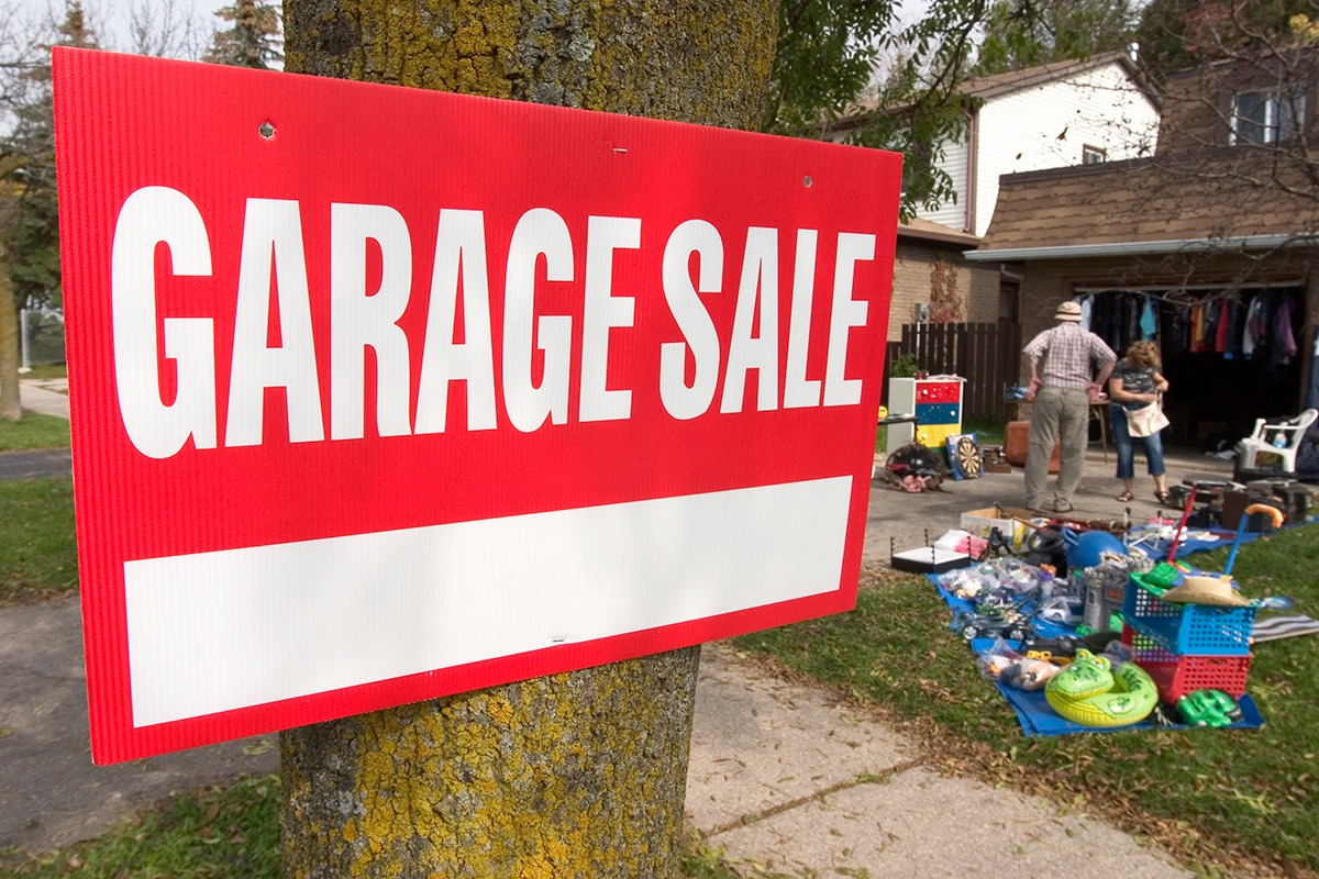 Register your private Garage Sale