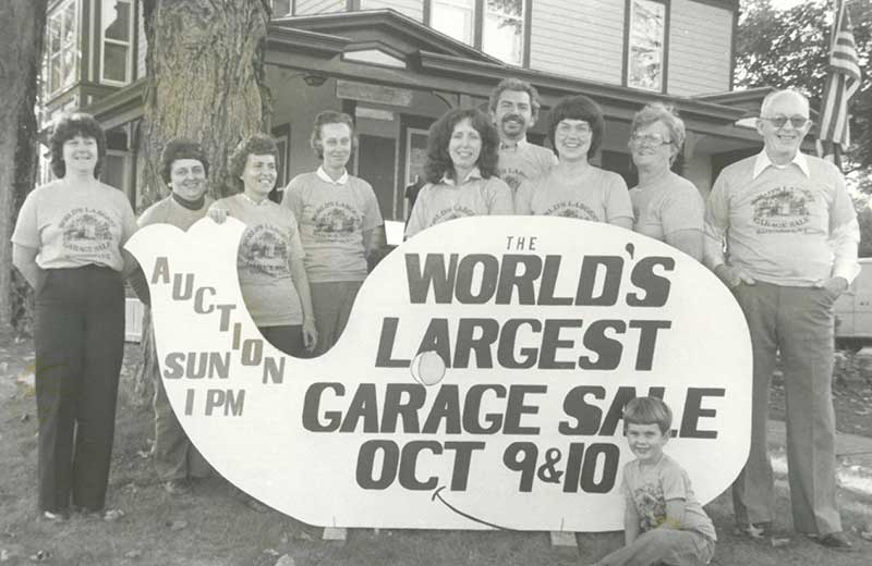 Old Garage Sale Photo